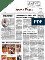 Kadoka Press, November 1, 2012