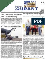 Pennington Co. Courant, November 1, 2012