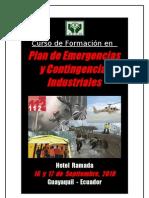 Curso de Plan de Emergencias y Contingencias Industriales_guayaquil