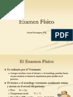 Profa. k Dominguez 10. Exam Fisico Avet 110
