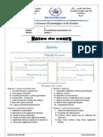 S3_Algebre I (Polycopie Du Cours)