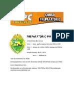 PREPARATÓRIO PM