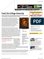 Coed Life at Binge University