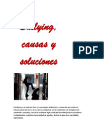 Bullying, causas y soluciones(INFORME)