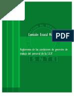 Reglamento de Las Condiciones Generales Del Trabajo Del Personal de La SEP