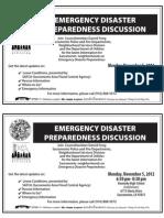 Emergency Preparedness Kennedy 2012 D