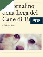 Giornalino Lega Del Cane Ottobre 12