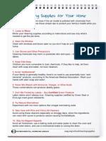 Home Tip Sheet