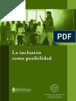 La inclusión como posibilidad. Kaplan Carina