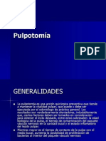 Pulpotomía