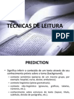 Técnicas e estratégias de leitura (1)
