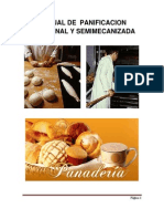 Manual de Panificacion Artesanal y Semimecanizada