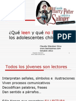Presentación Claudia Gilardoni