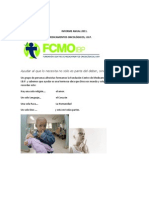 Informe Anual 2011 Fcmo
