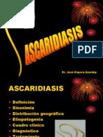 Helm Ascaridiasiss Para Examen Final 2010