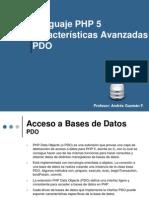Php5 Componentes Avanzados Pdo