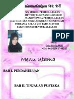 Slide Seminar Pend. Matematika