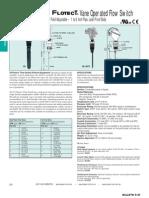 Dwyer - Flow Switch Serie V8, Catalogo
