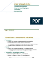 Sensor Characteristic