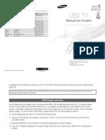 Manual Led Samsung 6500