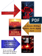J.M.VALENTE & DEBRA GUILLOU Novels