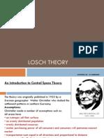 Losch Theory
