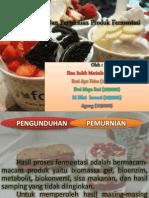 Pengunduhan Dan Pemurnian Produk Fermentasi