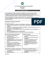 PE.2 Conceptos Fundamentales de Probabilidad