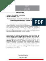 """01-04-2011 """"Rumbo a la Ley de Juventud"""""""