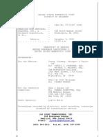 Transcript Ahm Dobben Testimony_12!9!09