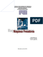 Informe Fresadoras 15 Julio 2012