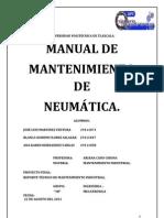 Manual de Mantenimiento Equipos de Neumatica e Hidraulica