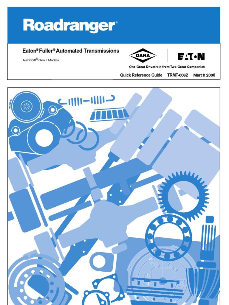2010-01-Eaton Auto Shift | Clutch | Transmission (Mechanics)