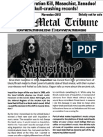 Heavy Metal Tribune Issue 4 (November 2012)