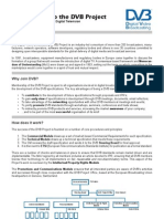 DVB Project Factsheet