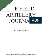 Field Artillery Journal - Jul 1934