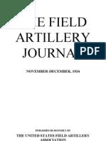 Field Artillery Journal - Nov 1934