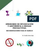 Normas Para El Tratamiento Del Sindrome de Intoxicacion y Abstinencia a Drogas IAFA