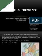 decreto supremo nº40