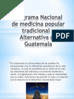 Programa Nacional de Medicina Popular Tradicional y Alternativa