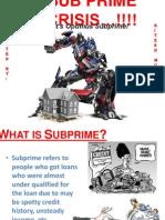 Subprime Crisis Main