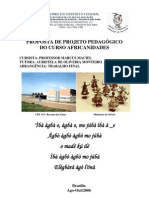Proposta de Projeto Pedagogico - Africanidades Brasil