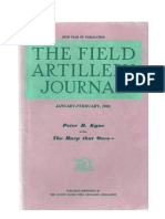 Field Artillery Journal - Jan 1938