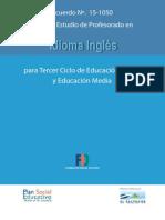 Ingles Plan 2013