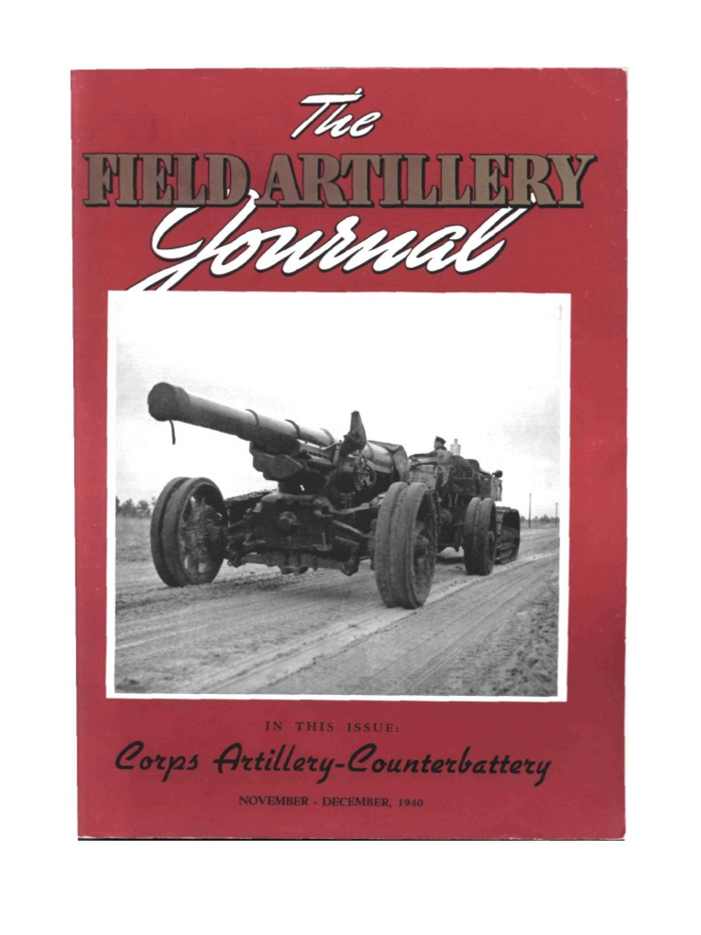 Field Artillery Journal   Nov 1940 | Regiment | Battalion