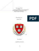 Thesis Proposal Cesar Marolla Harvard University
