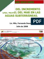 2.- Efecto Del Incremento Del Nivel Del Mar - Ing. Fernando