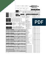 Ficha D&D 3.75