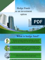 Hedge Funds -Presenatation Final One