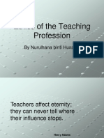 Ethics of the Teaching Profession